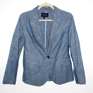 Lands' End Linen Blazer